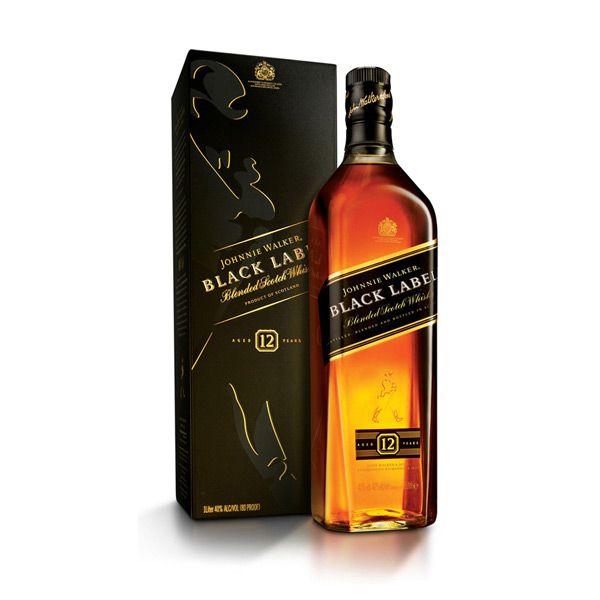 Johny Walker Johny Walker Black Label 12 years 750 ml