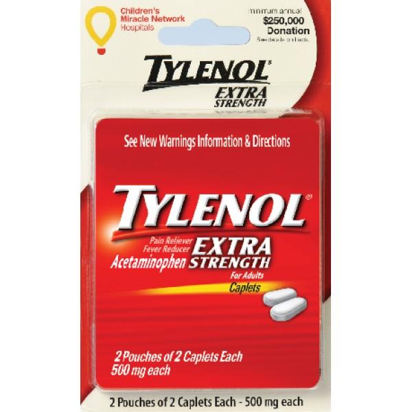 Tylenol Tylenol Extra Strength 4 caps