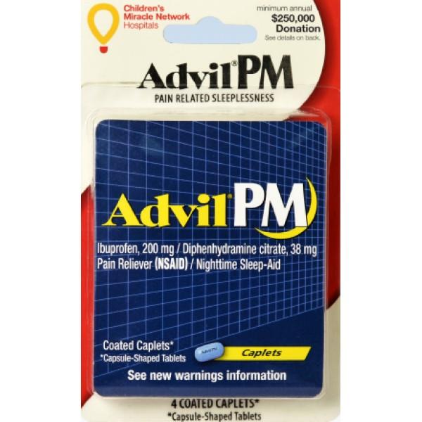 Advil Advil PM 4 ct