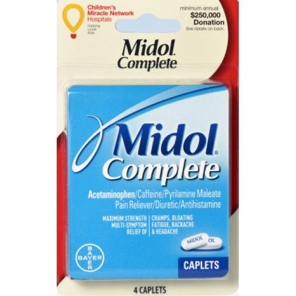 Midol Midol Complete 4 Caps