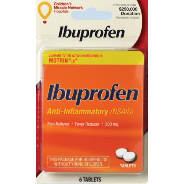 I-Prin I-Prin Ibuprofen 6 ct